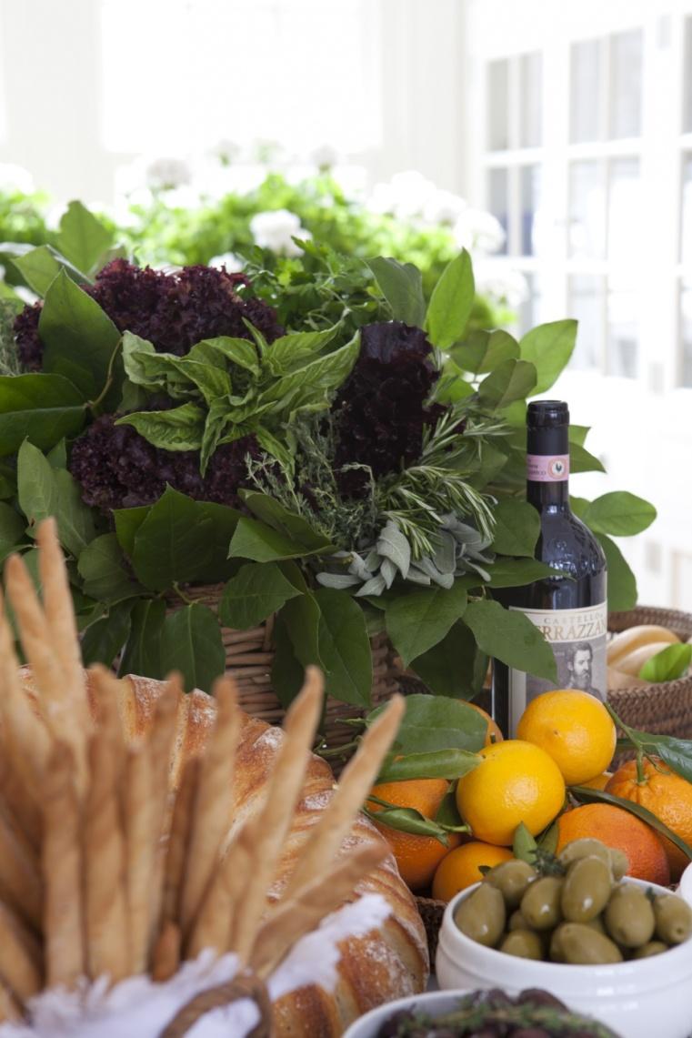 Italian Feast, Carolyne Roehm