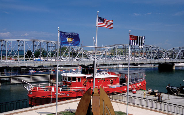 Door County Maritime Museum in Sturgeon Bay